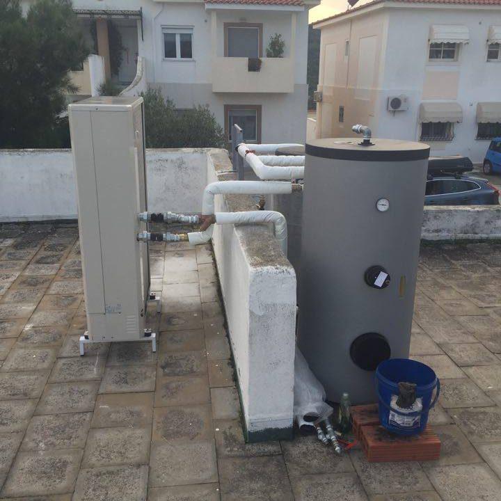2 Αντλία θερμότητας σε μεζονέτα στην ΔΕΠΟΣ της Καβάλας.