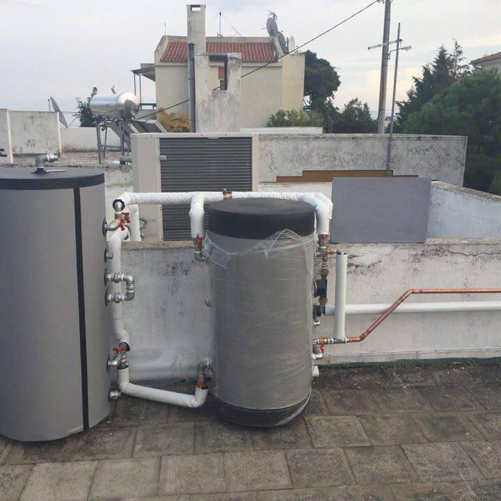 4 Αντλία θερμότητας σε μεζονέτα στην ΔΕΠΟΣ της Καβάλας.